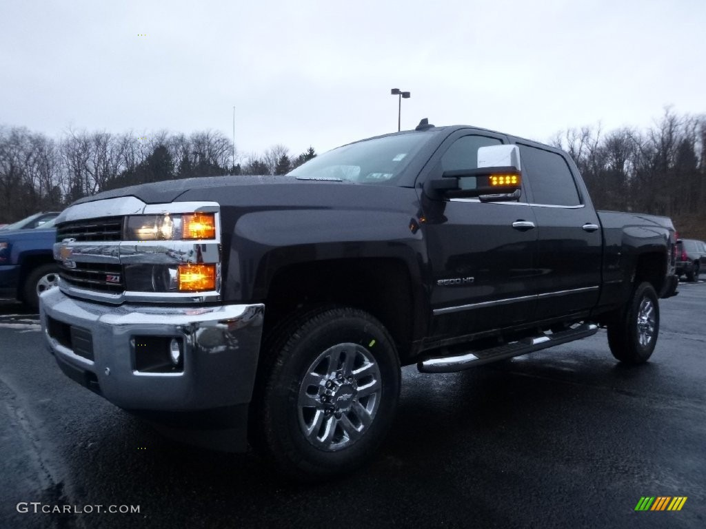 2016 tungsten metallic chevrolet silverado 2500hd ltz crew cab 4x4 110335890. Black Bedroom Furniture Sets. Home Design Ideas