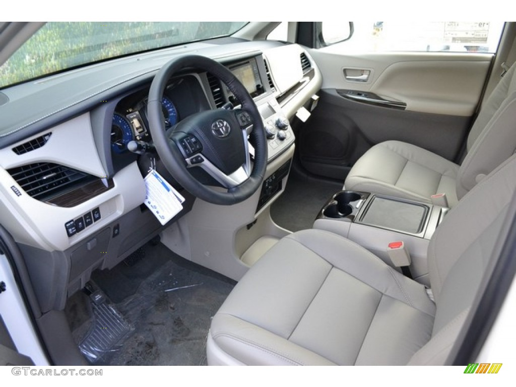 dark bisque interior 2016 toyota sienna xle premium awd. Black Bedroom Furniture Sets. Home Design Ideas