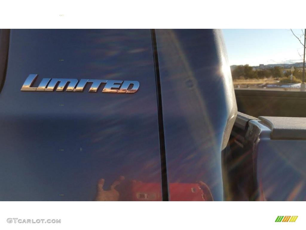 2010 Tundra Limited CrewMax 4x4 - Nautical Blue Metallic / Black photo #7