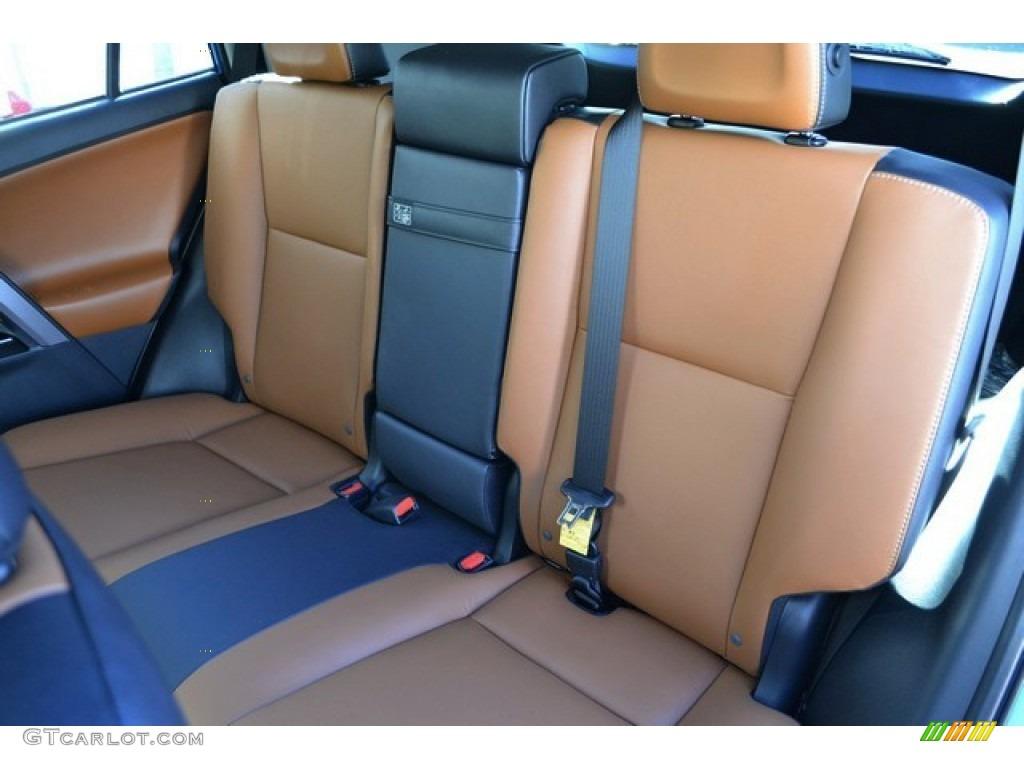 Cinnamon Interior 2016 Toyota Rav4 Limited Hybrid Awd Photo 110379758