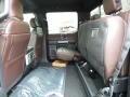 2016 Ford F150 Platinum Brunello Interior Rear Seat Photo