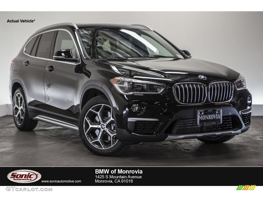 Jet Black BMW X XDrivei GTCarLotcom Car - Black bmw x1