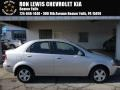 Cosmic Silver 2006 Chevrolet Aveo LS Sedan