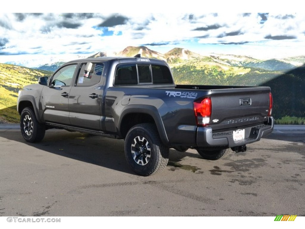 2016 magnetic gray metallic toyota tacoma trd off road double cab 4x4 110396447 photo 3. Black Bedroom Furniture Sets. Home Design Ideas