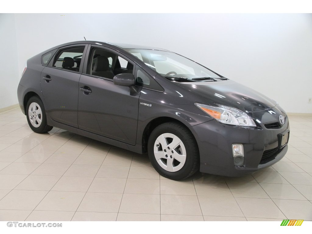 2010 Prius Hybrid Iii Winter Gray Metallic Dark Photo 1