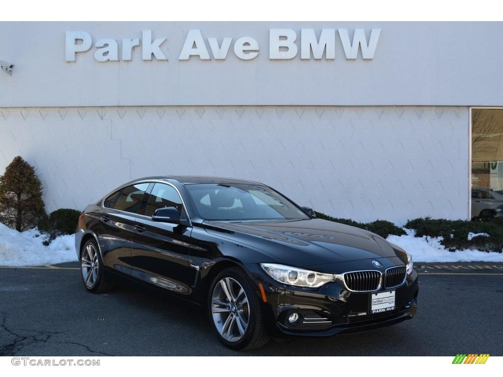 Jet Black BMW 4 Series