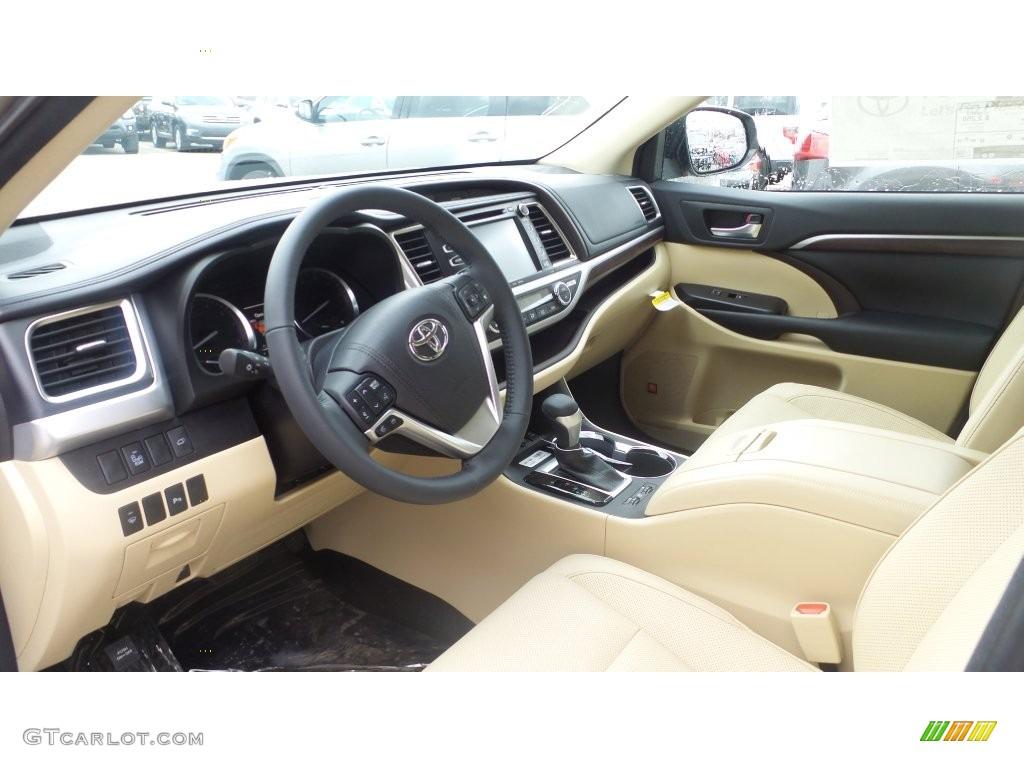 2016 Creme Brulee Mica Toyota Highlander Limited Awd 110419630 Photo 6 Car