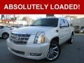White Diamond Tricoat 2013 Cadillac Escalade ESV Platinum AWD