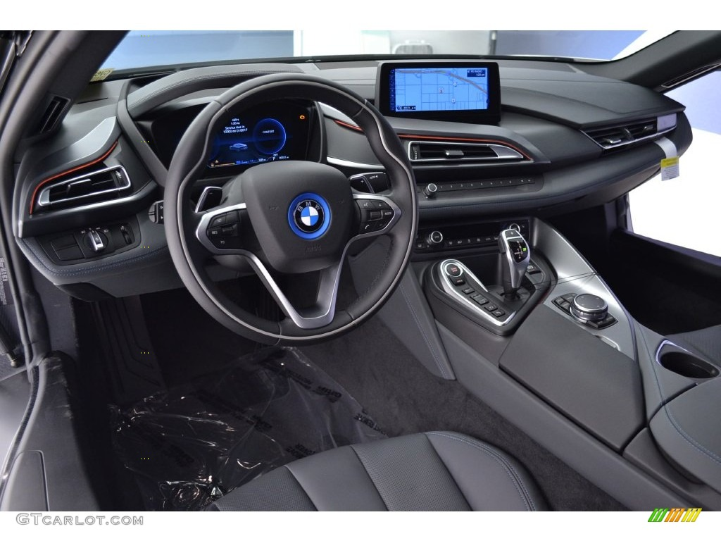 Gigia Amido Black Full Perforated Leather Interior 2016 Bmw I8 Standard Model Photo 110461364