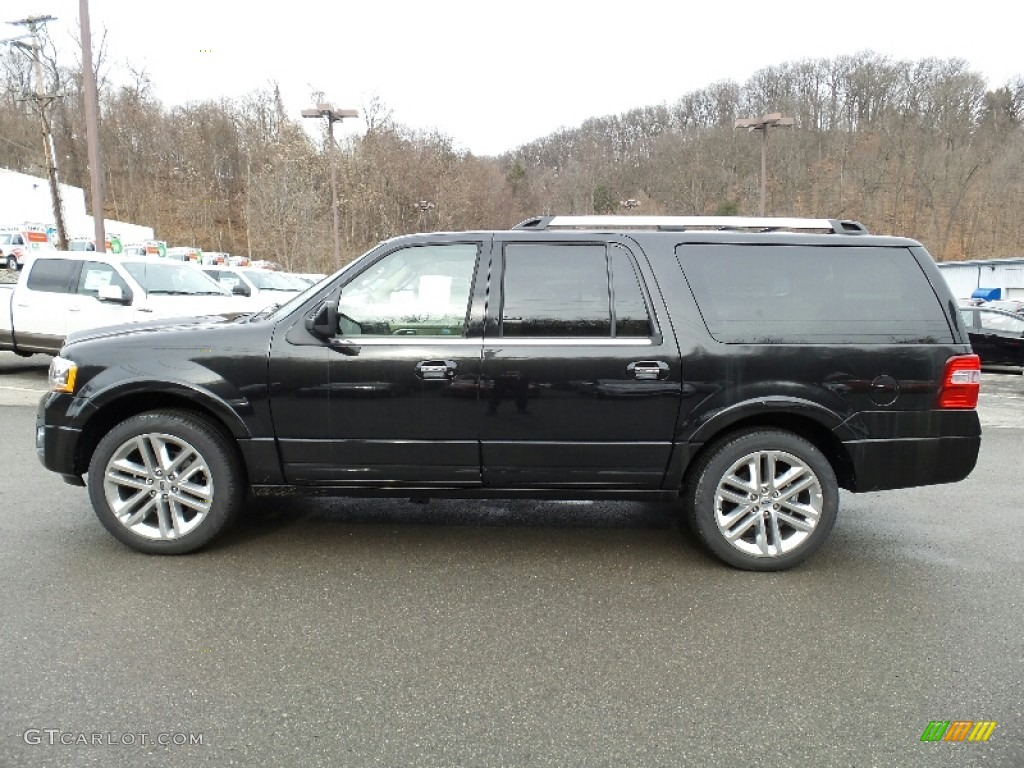 2015 Tuxedo Black Metallic Ford Expedition EL Limited 4x4 ...