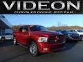 2012 Deep Cherry Red Crystal Pearl Dodge Ram 1500 Sport Crew Cab 4x4 #110495356