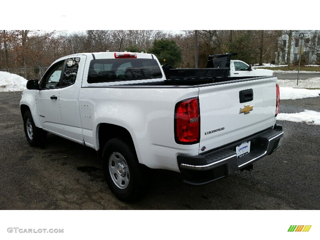 2016 summit white chevrolet colorado wt extended cab. Black Bedroom Furniture Sets. Home Design Ideas