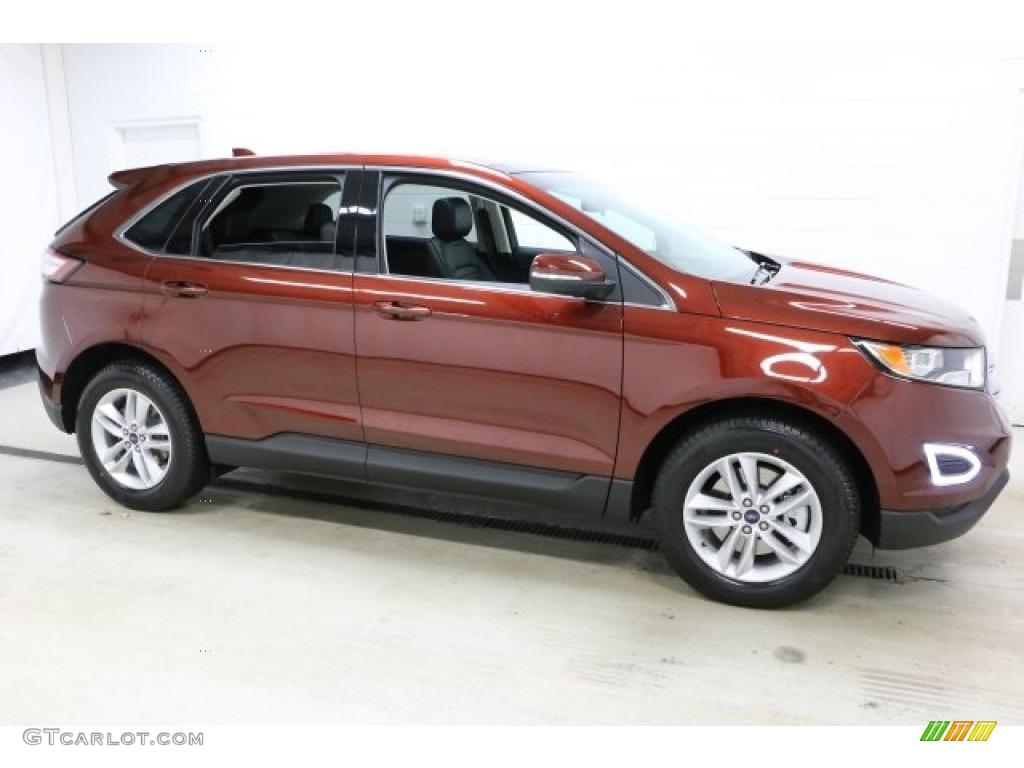 Bronze Fire Ford Edge