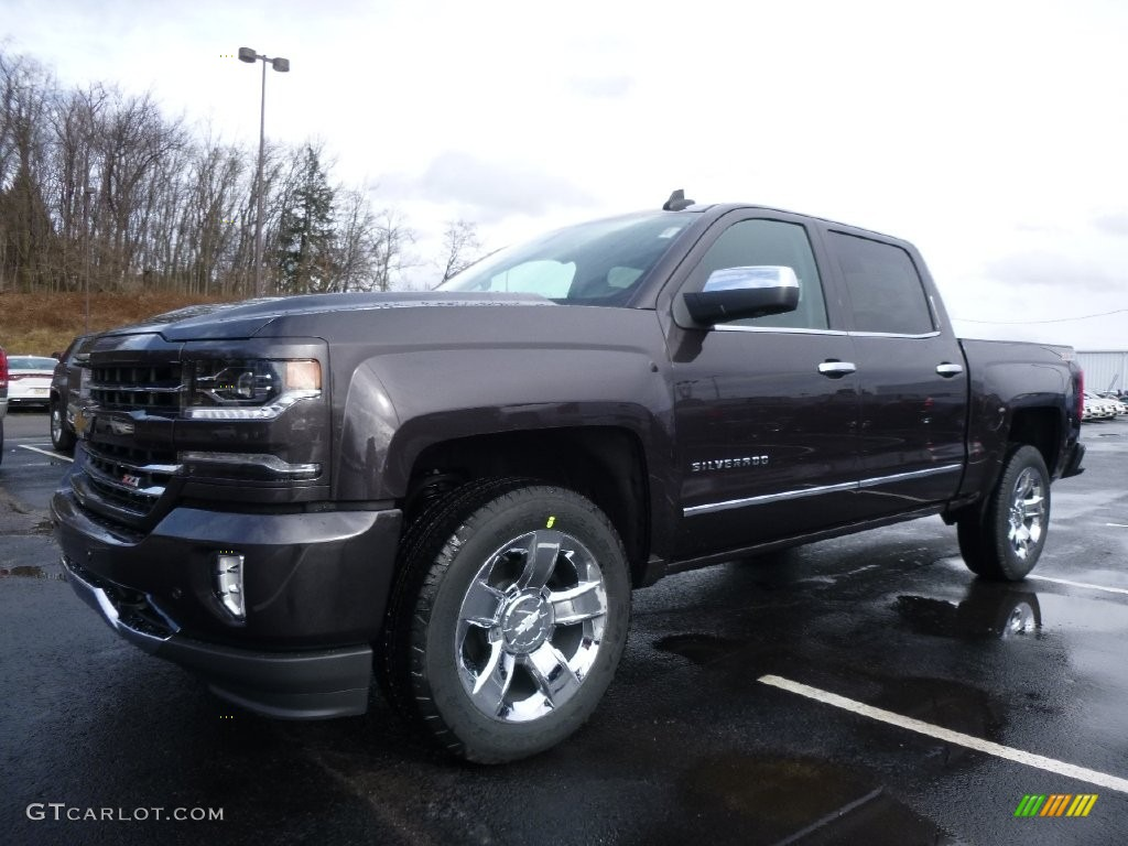 2016 tungsten metallic chevrolet silverado 1500 ltz z71. Black Bedroom Furniture Sets. Home Design Ideas