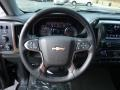2016 Chevrolet Silverado 1500 Jet Black Interior Steering Wheel Photo
