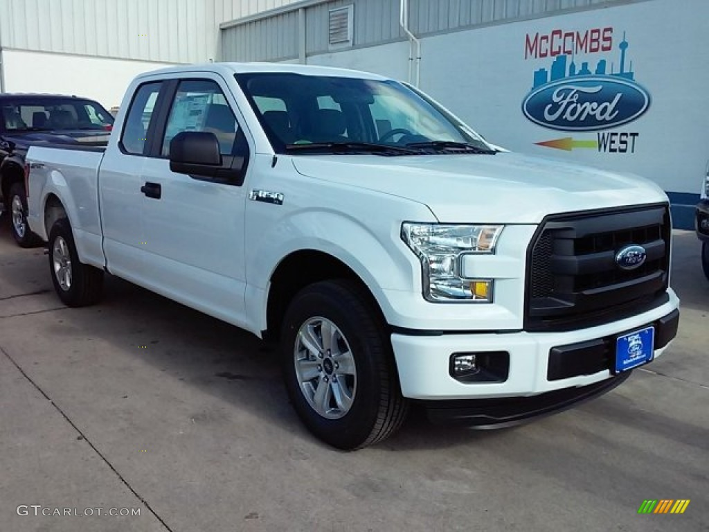 2016 oxford white ford f150 xl supercab 110550117 photo 20 car color galleries. Black Bedroom Furniture Sets. Home Design Ideas