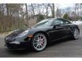 Black 2014 Porsche 911 Carrera S Coupe