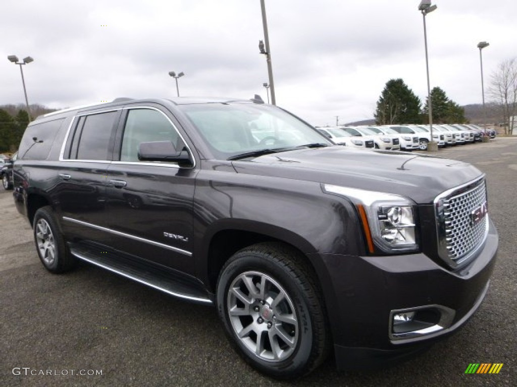2016 iridium metallic gmc yukon xl denali 4wd 110550291. Black Bedroom Furniture Sets. Home Design Ideas