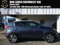 Twilight Blue 2013 Kia Sportage EX AWD