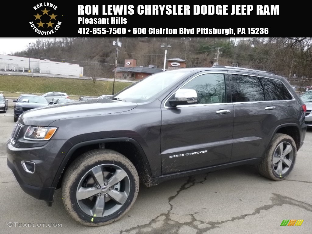 Granite Crystal Metallic Jeep Grand Cherokee