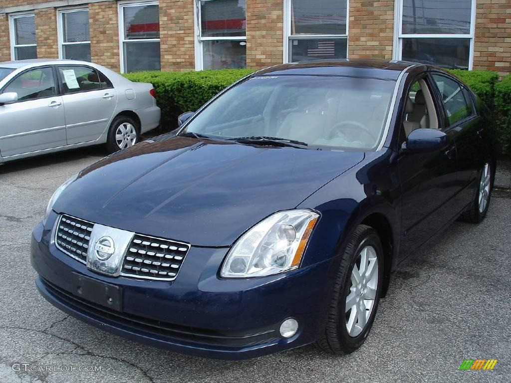 2005 majestic blue metallic nissan maxima 3 5 sl 11052272. Black Bedroom Furniture Sets. Home Design Ideas