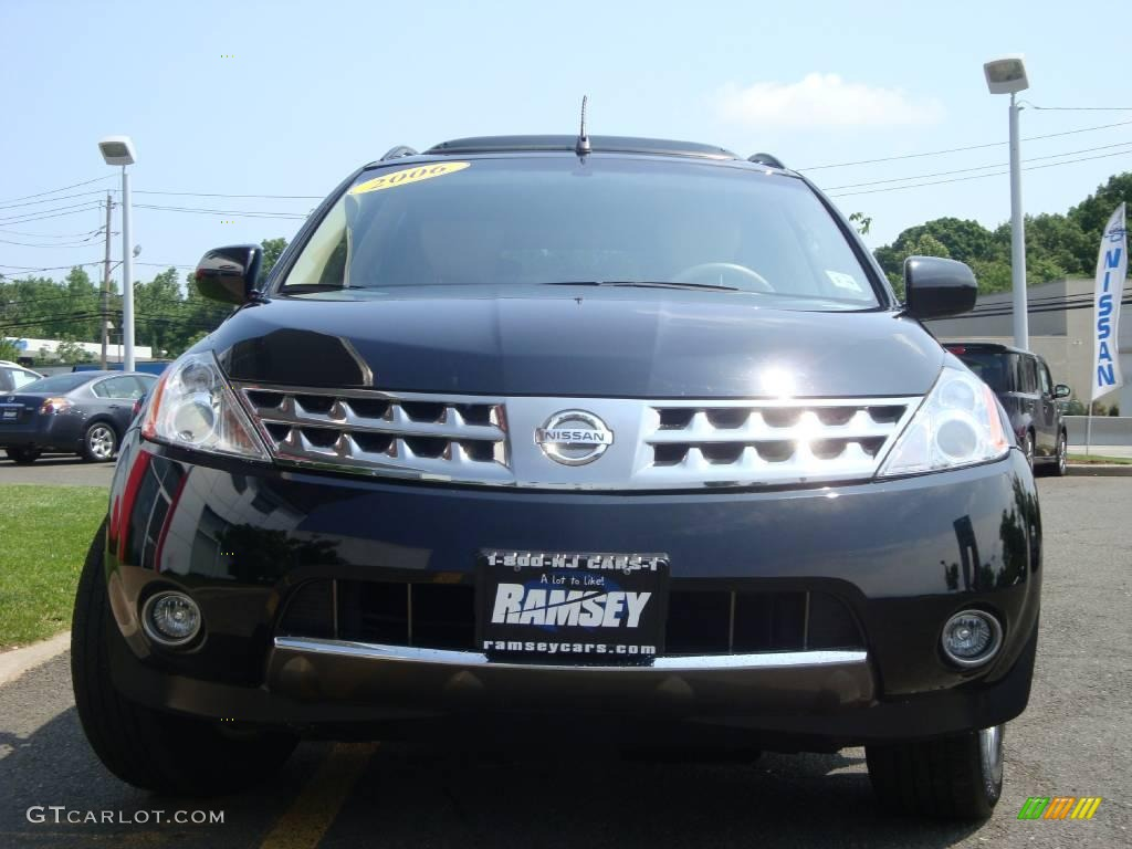 2006 Murano SL AWD - Super Black / Cafe Latte photo #1