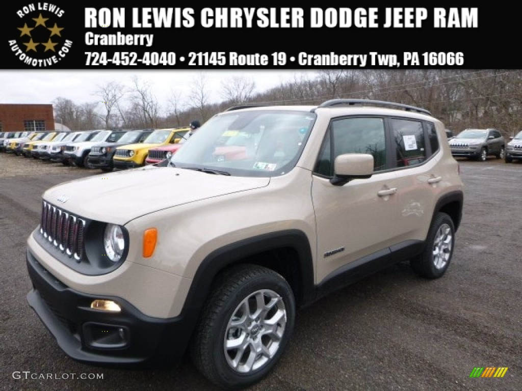2016 mojave sand jeep renegade latitude 4x4 110586249 car color galleries. Black Bedroom Furniture Sets. Home Design Ideas