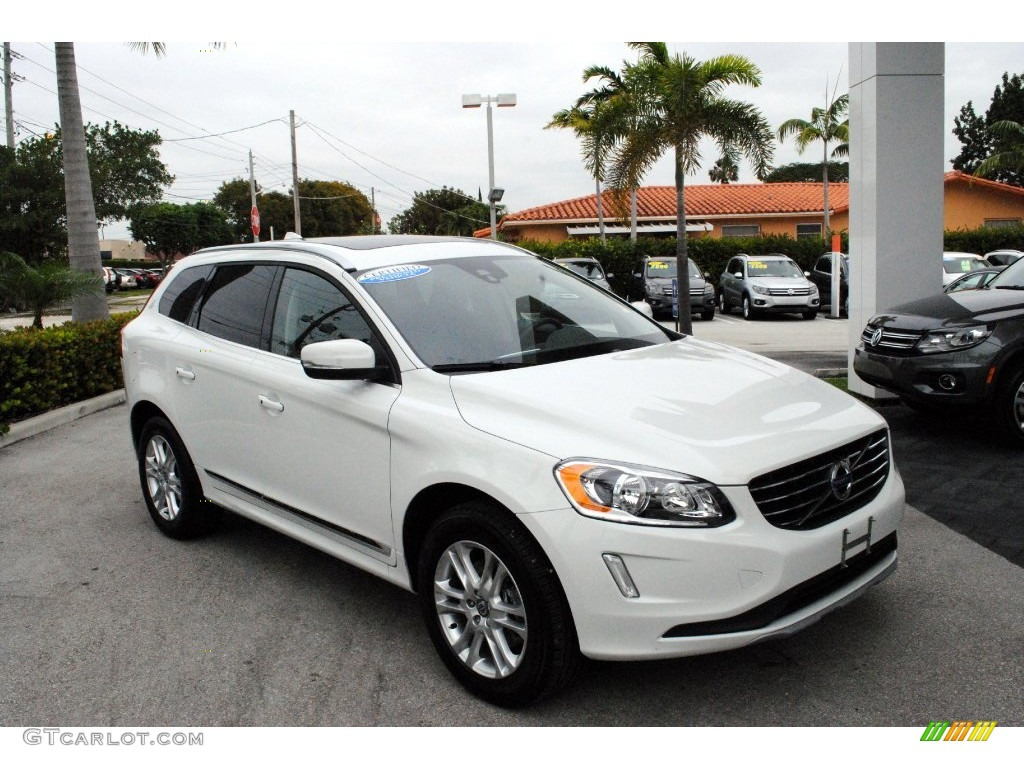 2016 ice white volvo xc60 t5 drive e 110586112 car color galleries. Black Bedroom Furniture Sets. Home Design Ideas