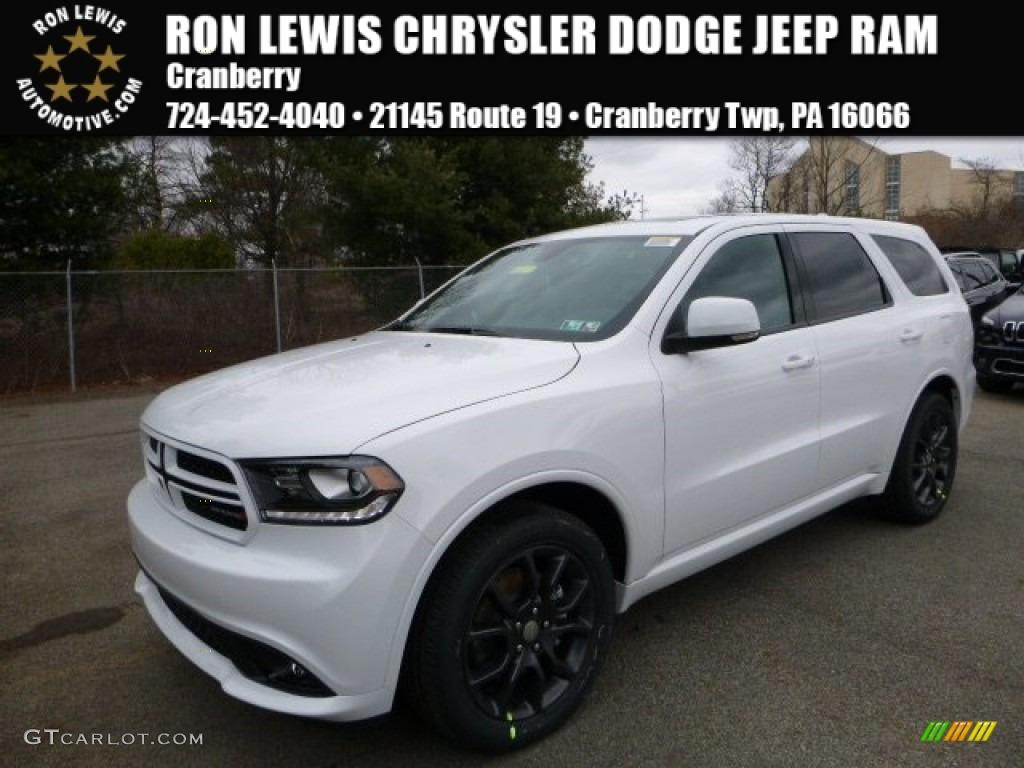 2016 Bright White Dodge Durango RT AWD 110586237  GTCarLotcom