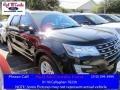 Shadow Black 2016 Ford Explorer XLT
