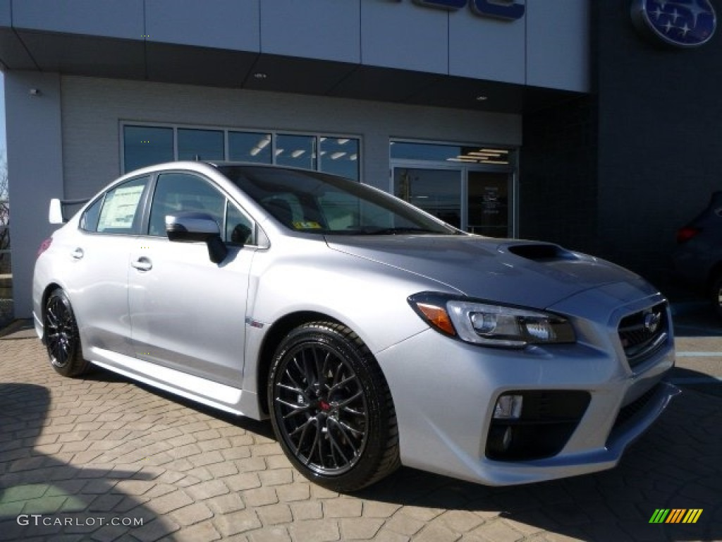 Subaru Vin Decoder >> 2016 Ice Silver Metallic Subaru WRX STI #110637229 | GTCarLot.com - Car Color Galleries