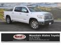 2016 Super White Toyota Tundra Limited CrewMax 4x4  photo #1