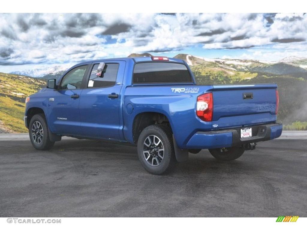 Blazing Blue Pearl 2016 Toyota Tundra Sr5 Crewmax 4x4