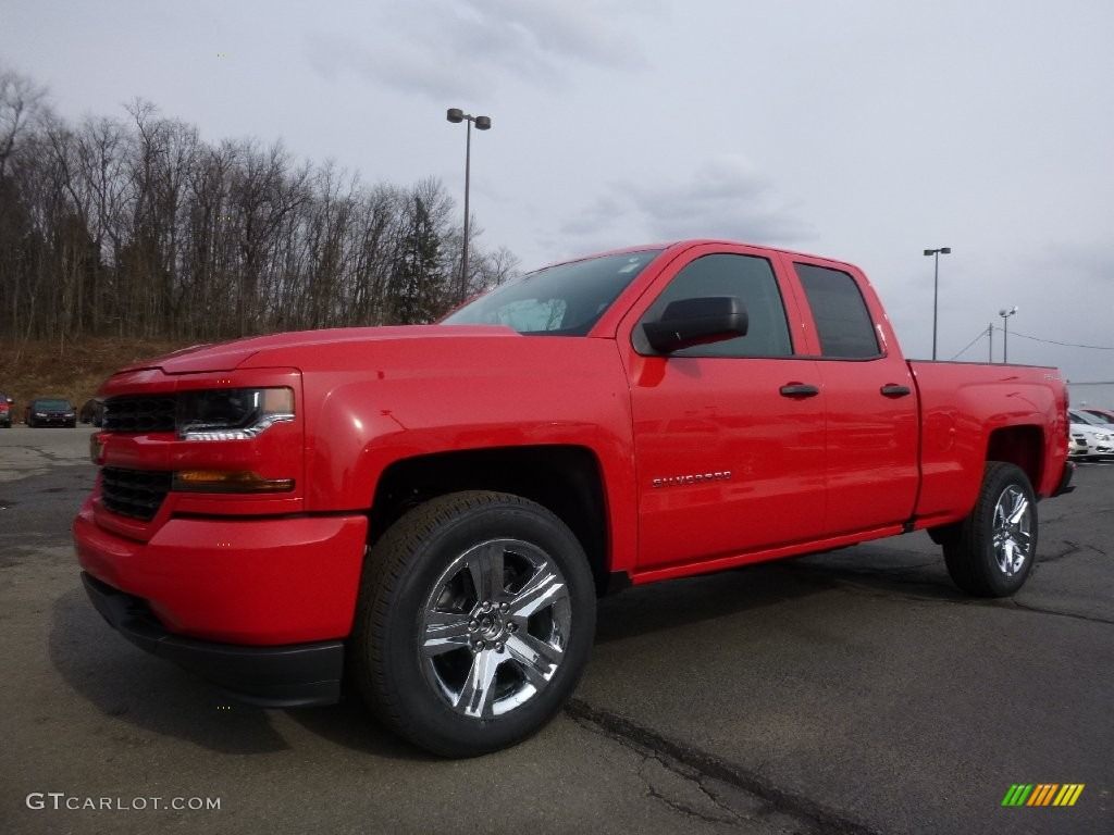 Red Hot Chevrolet Silverado 1500