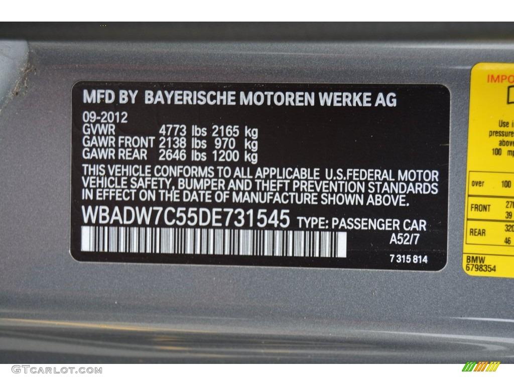 2011 BMW 328I Xdrive >> 2013 BMW 3 Series 328i Convertible Color Code Photos | GTCarLot.com