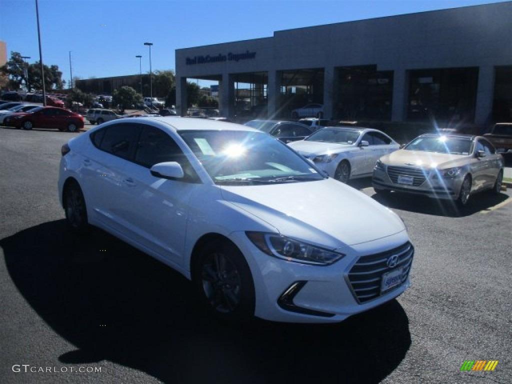 Hyundai Elantra 2017 White