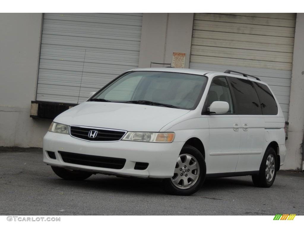 2004 Odyssey EX L   Taffeta White / Quartz Photo #1