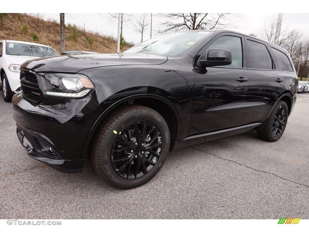 Brilliant Black Crystal Pearl Dodge Durango Sxt