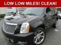 Black Ice Metallic 2013 Cadillac Escalade Premium AWD