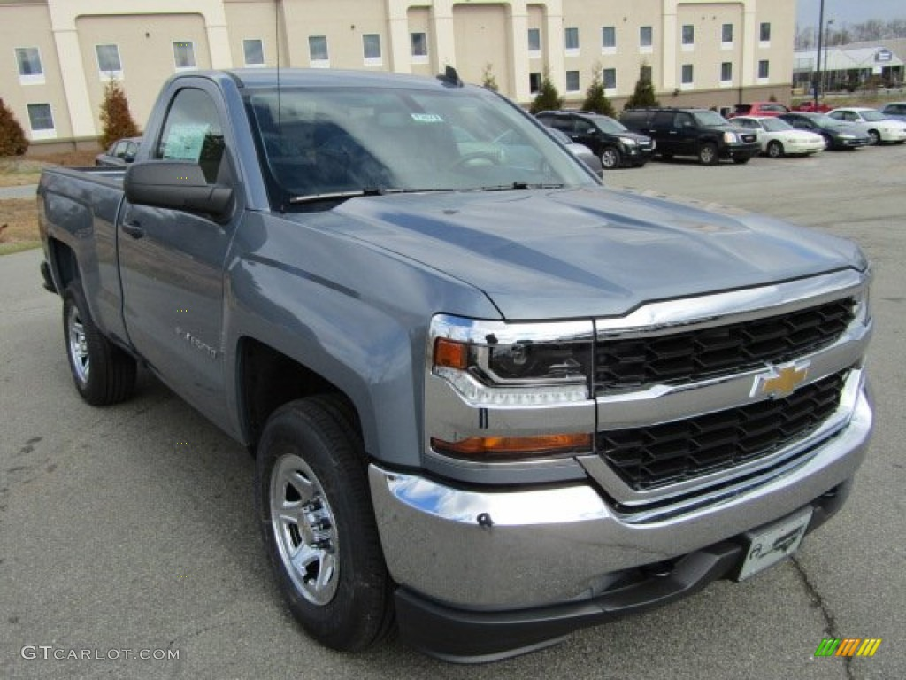 2016 slate grey metallic chevrolet silverado 1500 ls. Black Bedroom Furniture Sets. Home Design Ideas