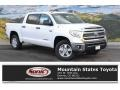 2016 Super White Toyota Tundra SR5 CrewMax 4x4  photo #1