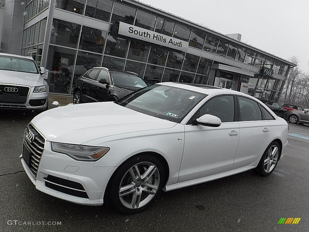 2016 glacier white metallic audi a6 2 0 tfsi premium plus. Black Bedroom Furniture Sets. Home Design Ideas