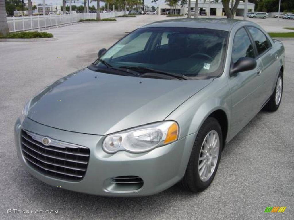 2004 satin jade pearl chrysler sebring lx sedan 11034007. Black Bedroom Furniture Sets. Home Design Ideas