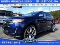 Kona Blue Metallic 2011 Ford Edge Sport