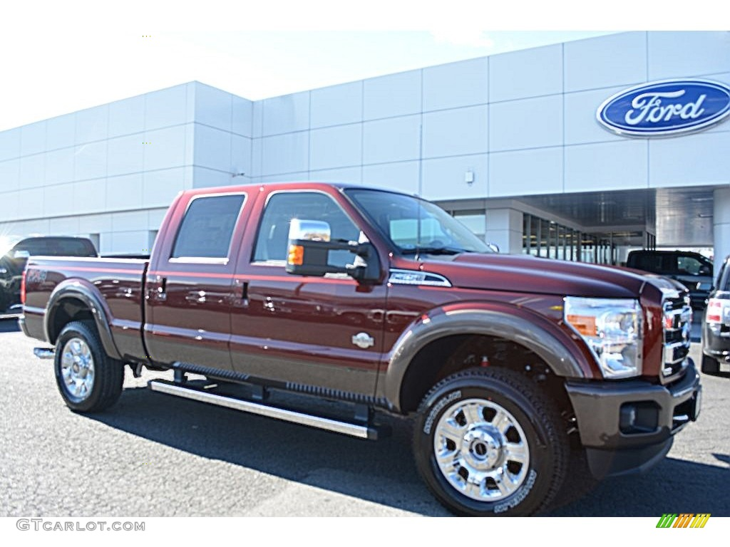 2016 bronze fire metallic ford f250 super duty king ranch crew cab 4x4 110729581. Black Bedroom Furniture Sets. Home Design Ideas