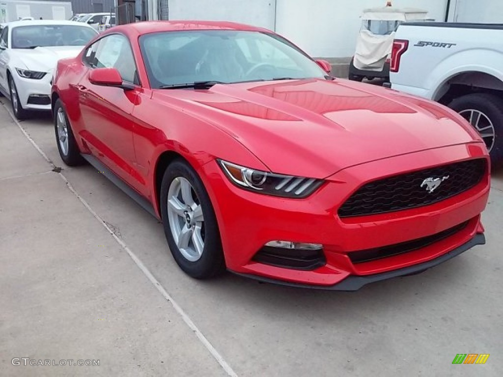 2016 race red ford mustang v6 coupe 110729483 car color galleries. Black Bedroom Furniture Sets. Home Design Ideas
