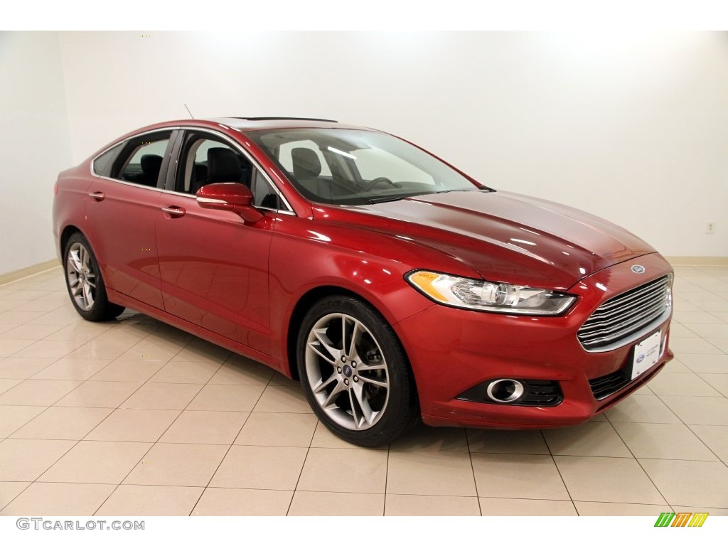2013 ruby red metallic ford fusion titanium awd 110729674 car color galleries. Black Bedroom Furniture Sets. Home Design Ideas