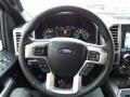 2016 Ford F150 Platinum Black Interior Steering Wheel Photo