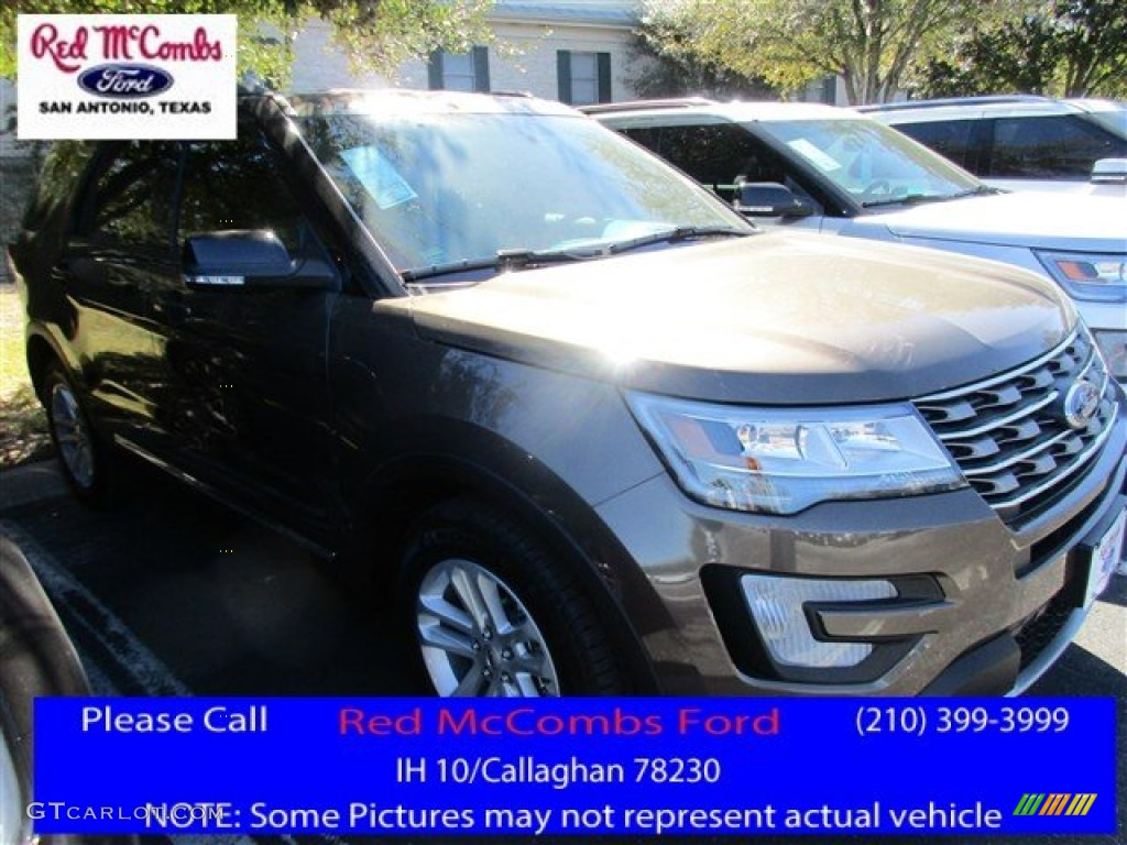 2016 Explorer XLT - Caribou Metallic / Medium Light Camel photo #1