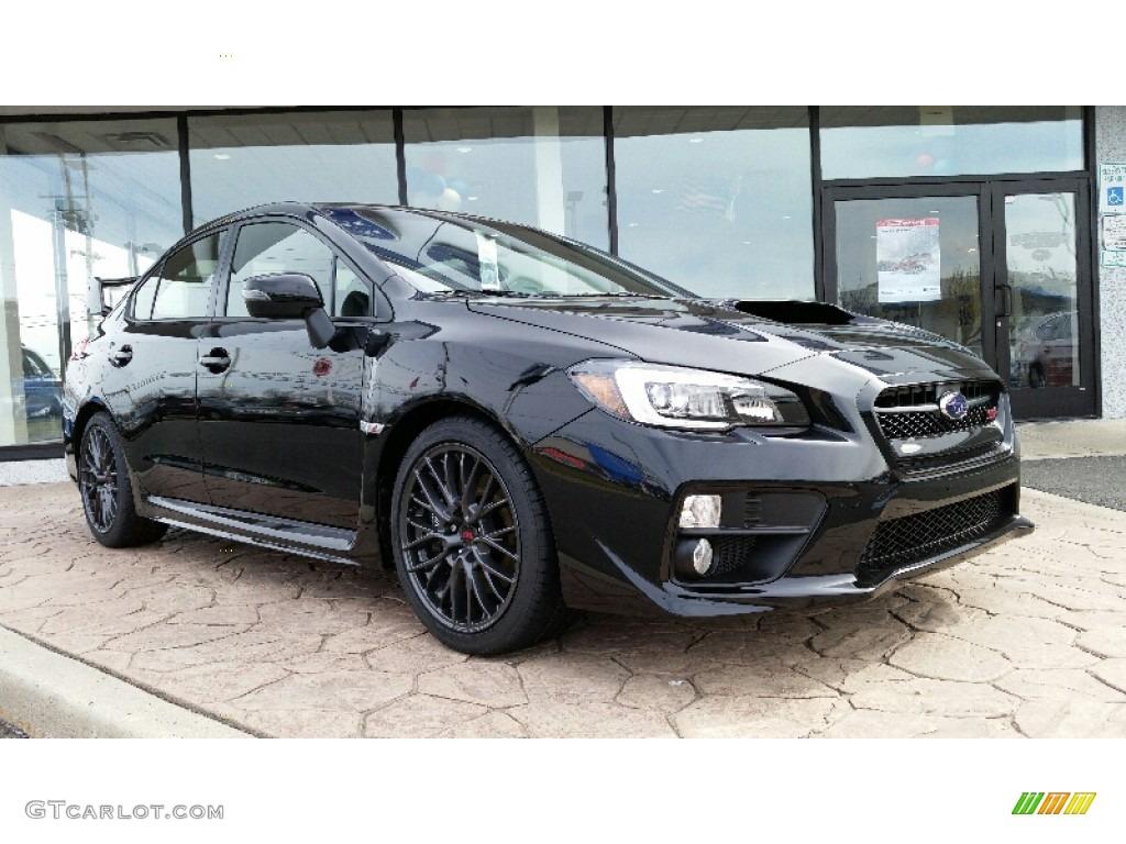 Crystal Black Silica Subaru Wrx